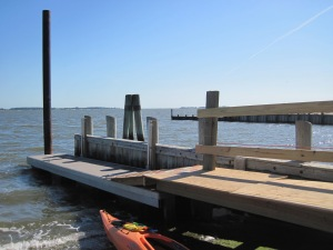 Launching at Holts Landing State Park