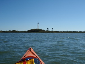 approaching Smith Island light