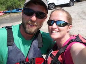 Pre-paddle selfie!